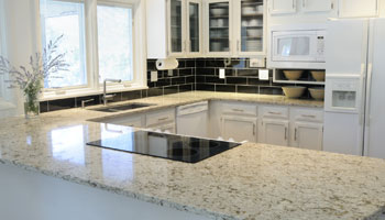 kitchen granite countertops remodel tile cabinets